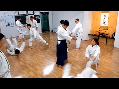 "[Aikido Incheon, Korea] ""Step by step""(2018/03/01)"