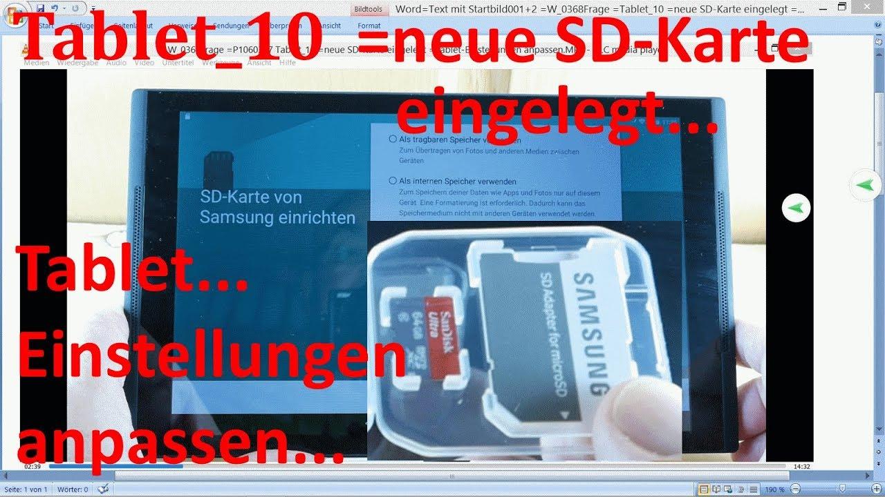 neue sd karte daten übertragen W_0368 =Tablet_10 =neue SD Karte eingelegt =Tablet App