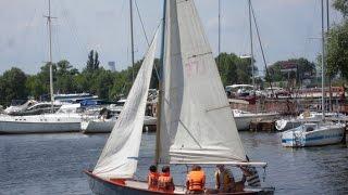 Киевский крейсерский яхт клуб. Экскурсия по клубу