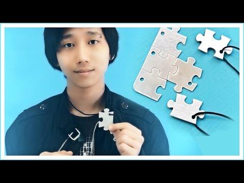 DIY Кулоны для друзей! | День Единства Наций | Декс Ким