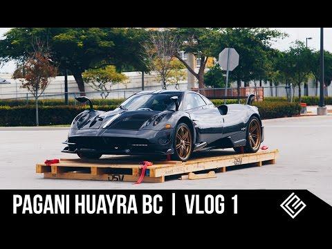 VLOG 1 | Pagani Huayra BC