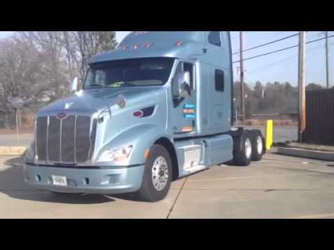 2017 Peterbilt 579 >> My 2011 Peterbilt 587 For Werner Enterprises - YouTube