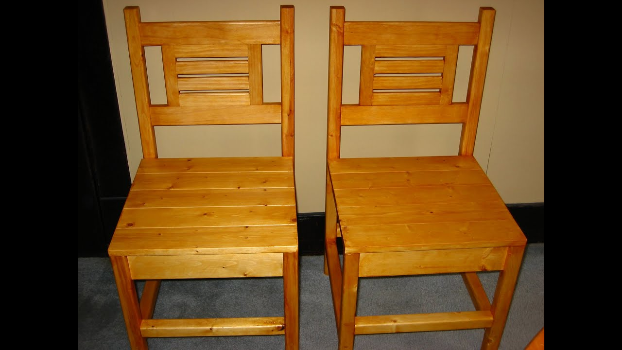 How To Make A Wooden Chair Fisher Price High Seat Kitchen Build Youtube