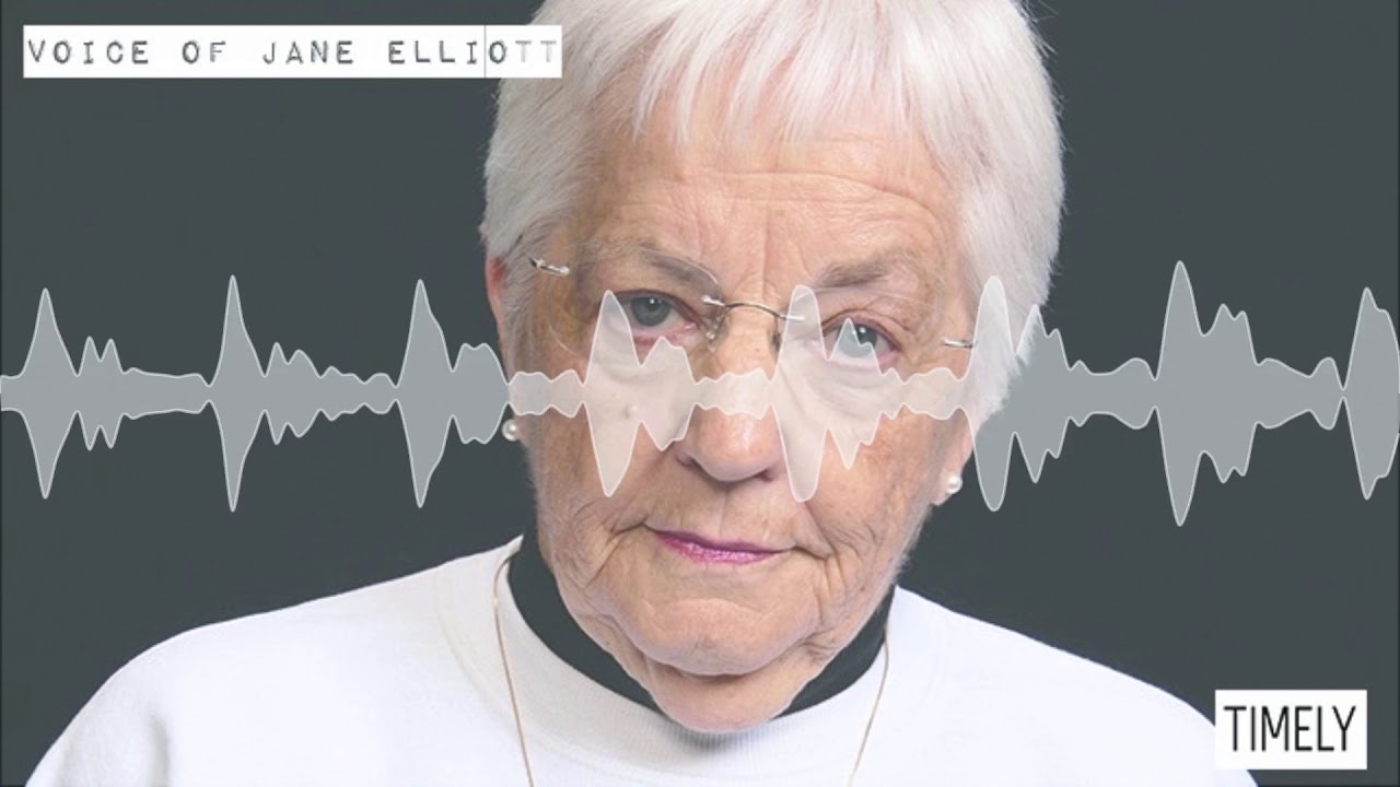 jane elliot blue eyes brown eyes Blue eyes brown eyes was made into a pbs special, and elliott even made an appearance on the oprah winfrey show but despite the experiment's success, elliott wishes she never had to do it again.