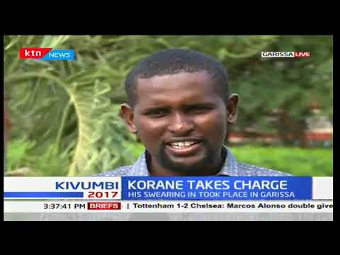 Garissa residents share sentiments after Governor Ali Bunow Korane takes charge as Governor