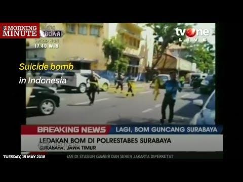 Suicide bomb in Indonesia