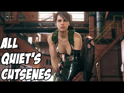 All Quiet's Cutscenes Metal Gear Solid 5 V: The Phantom Pain MSGV:TPP