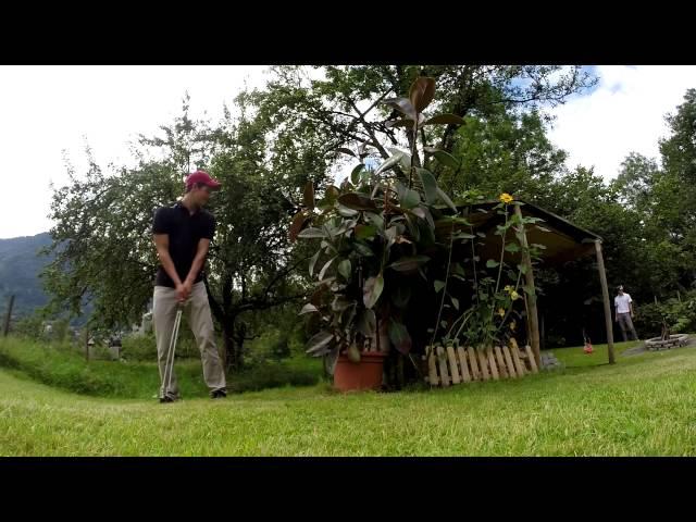 Golf Trickshots Backyard Edition