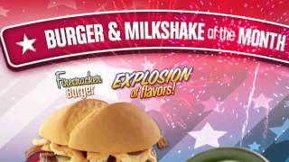 July 2014 Burger And Milkshake Of The Month