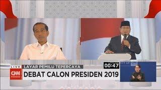"""Jokowi-Prabowo Saling """"Serang"""" Soal Hoaks, PKI & Khilafah ; Debat Keempat Capres 2019"""