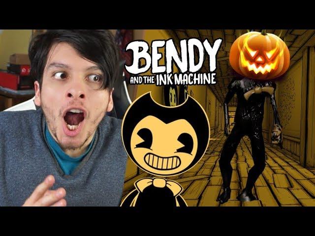 Reaccionando Al Nuevo Trailer De Bendy And The Ink Machine Halloween