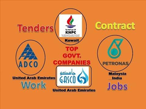 Chance to WIN Contract, Tender Jobs 🙊🙊 विदेश में काम आसानीसे