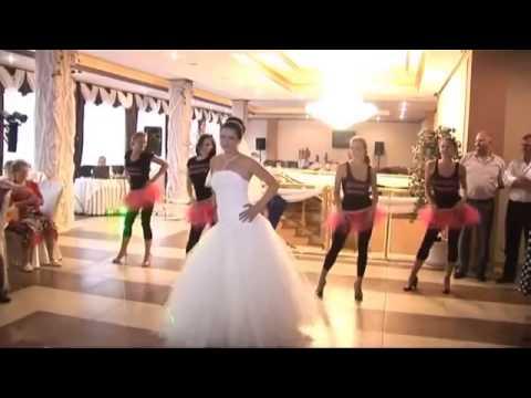 Танцевальный подарок жениху от невесты и её подружек 89