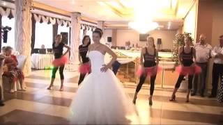 Танцевальный подарок жениху от невесты зажигает
