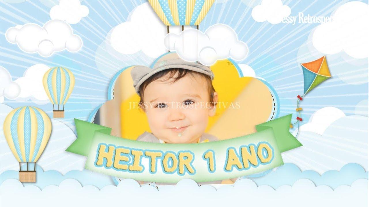 Convite Animado Baloes E Pipas Youtube