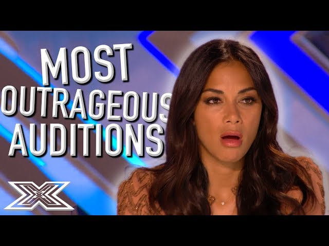 Most OUTRAGEOUS Auditions from The X Factor | X Factor Global
