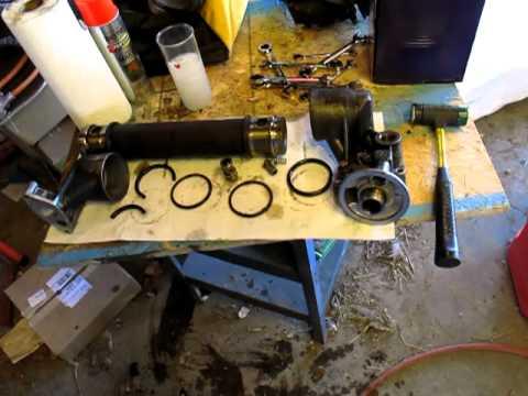 Powerstroke oil cooler  YouTube