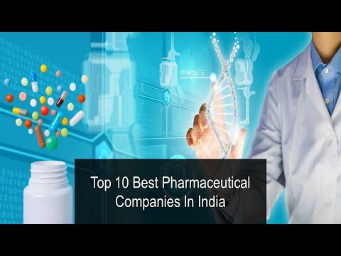 10 Best Pharmaceutical Companies In India