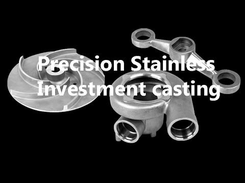 Investment casting for stainless steel and other alloys