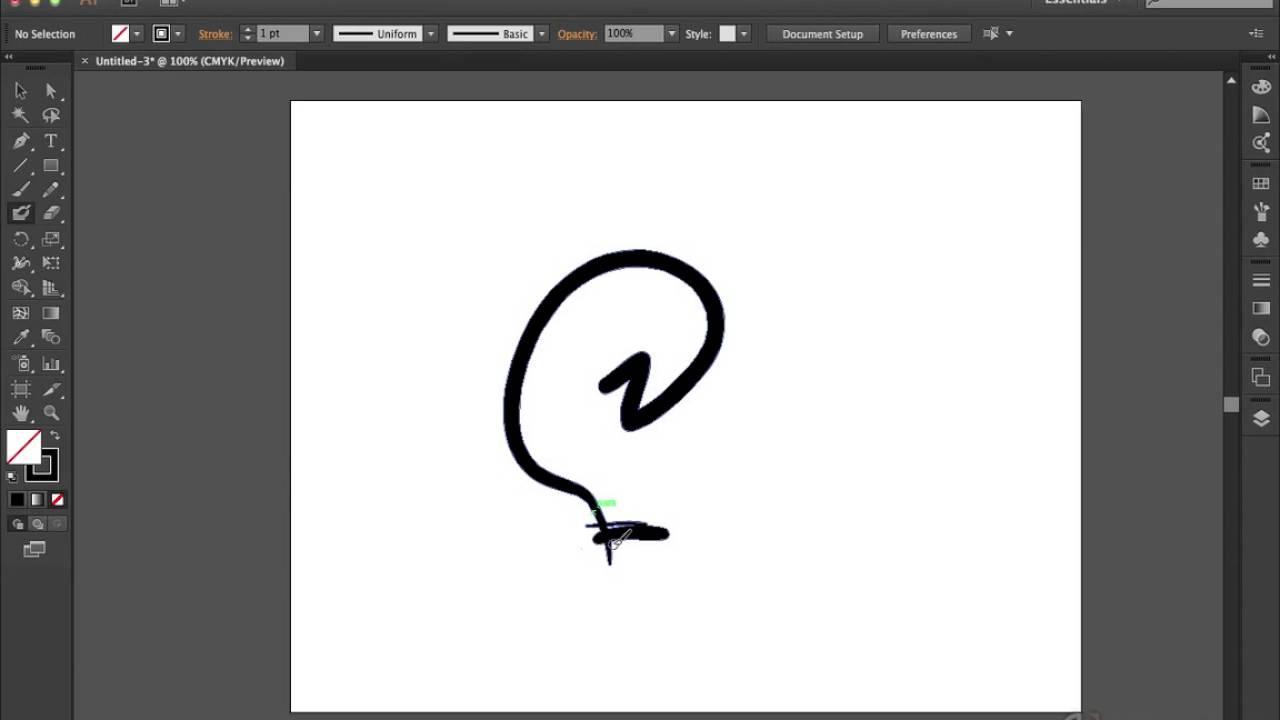 brush tool illustrator