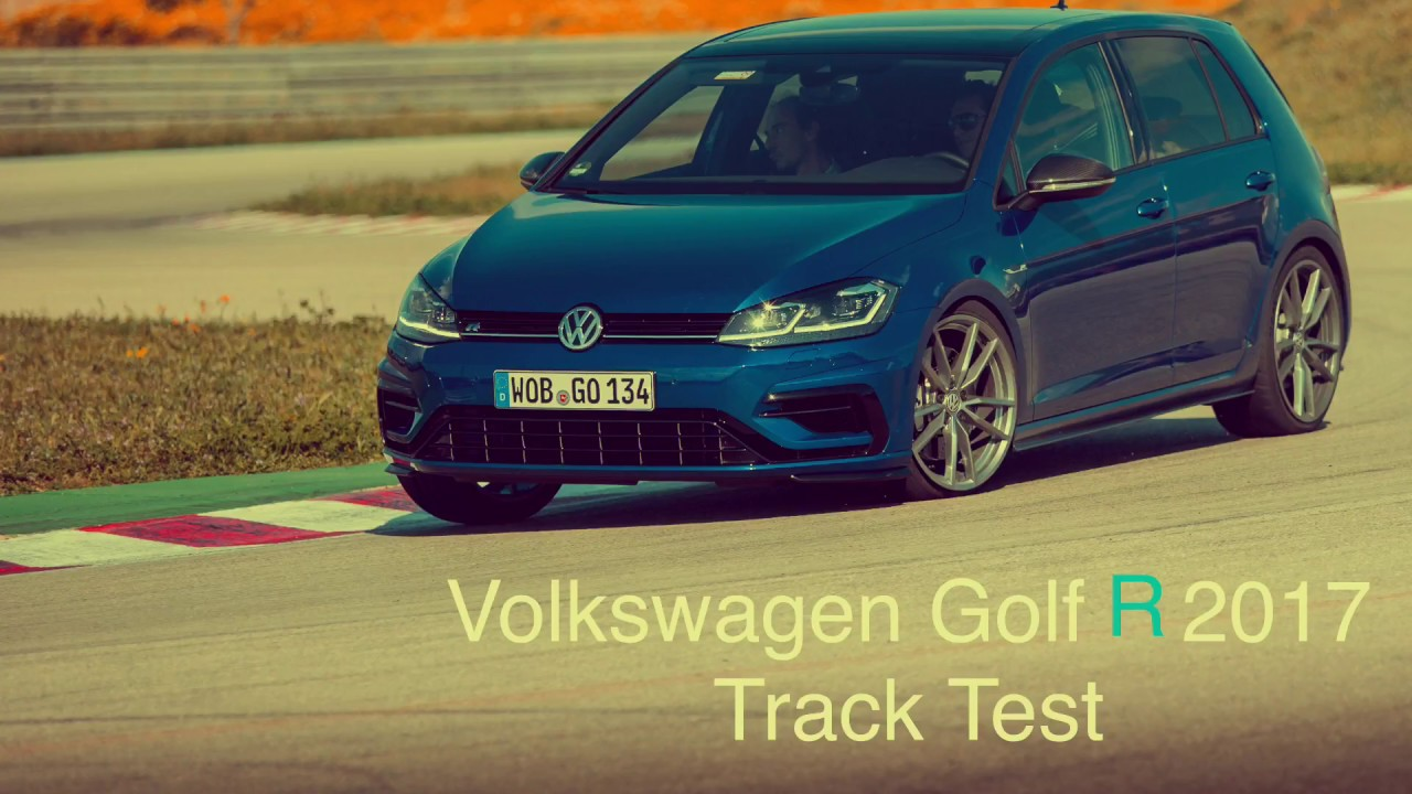 the new vw golf r performance on track akrapovic sound. Black Bedroom Furniture Sets. Home Design Ideas