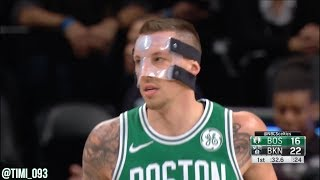 Daniel Theis Highlights vs Brooklyn Nets (8 pts, 10 reb, 2 blk)