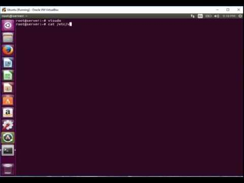 How To Edit Sudoer File In Linux