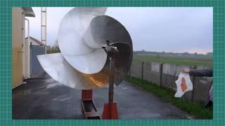 видео Роторный ветрогенератор