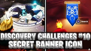 SECRET BANNER ICON! Week 10 Discovery Challenges (Fortnite Season 8)
