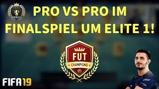 PRO VS PRO IM FINALSPIEL UM ELITE 1 - FUT CHAMPIONS! | FIFA 19 ULTIMATE TEAM