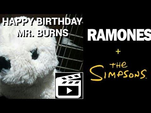 Happy birthday mr burns