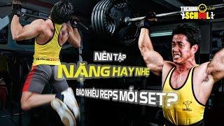 Cách tập gym giúp phát triển cơ bắp nhanh nhất - Ưu điểm và nguy hiểm khi tập nặng