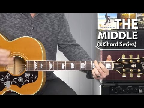 How to Play The Middle by Jimmy Eat World -3 Chord Series Guitar Lesson