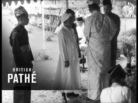 Sultan Of Perak's Birthday (1953)