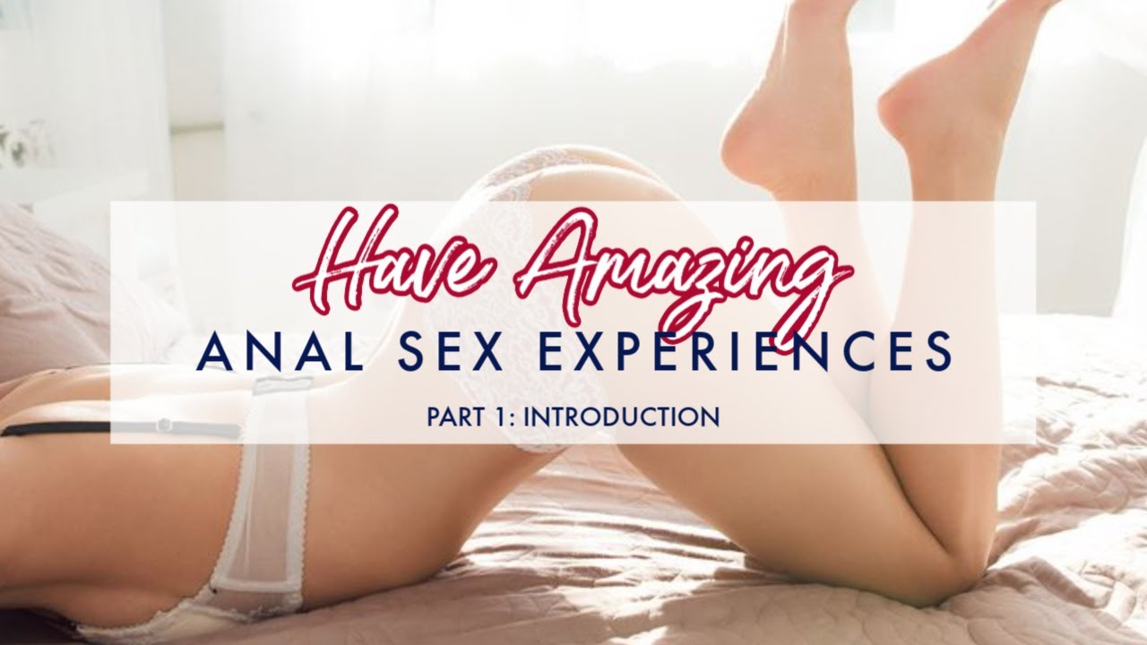 play How to introduce anal