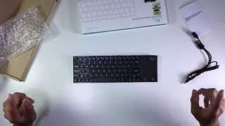 rii k12 ultra slim 2 4ghz portable mini wireless kodi keyboard with large size touchpad