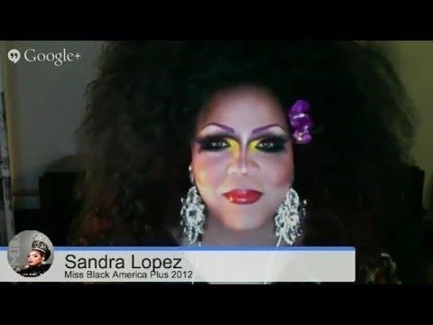 Sandra Lopez   Miss Black America Plus   Pageant Verite Feb 27 2014