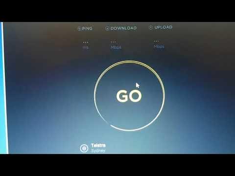 Internet speed test sydney australia