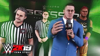WWE 2K19 Story - John Cena BEGS Godfather for Forgiveness