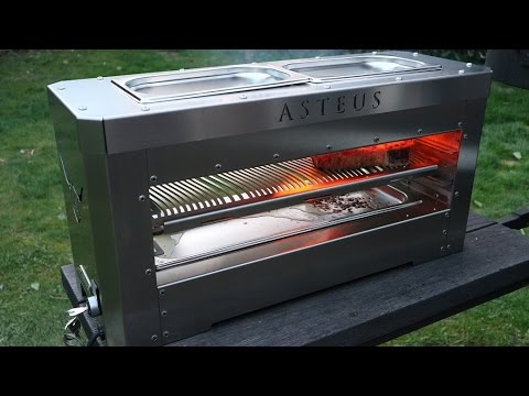 Infrarot Elektrogrill Test : Der asteus family im test youtube