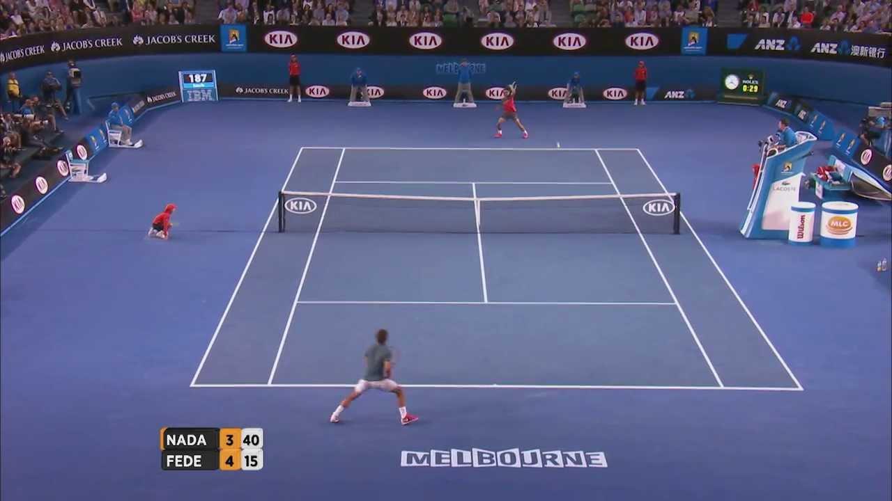 Nadal V Federer Highlights Semifinal Australian Open 2014 Youtube