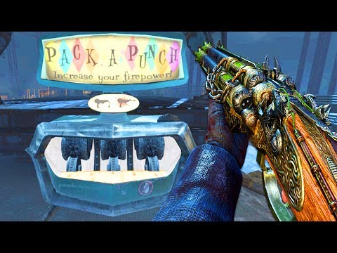 MOB OF THE DEAD: ALL GUNS PACK A PUNCHED & SOLO EASTER EGG!