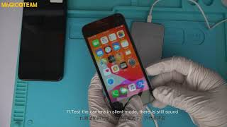 How to remove the Japanese iPhone SE/6/6P/6S/6SP/7/7P/8/8P/X camera shutter sound by iBox mini? screenshot 3