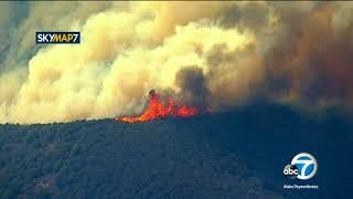 Thomas Fire: Evacuations in Santa Barbara County continue to expand | ABC7