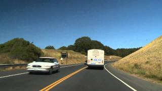Time-Lapse: Arcata to San Francisco California - Sony EX1 Camera