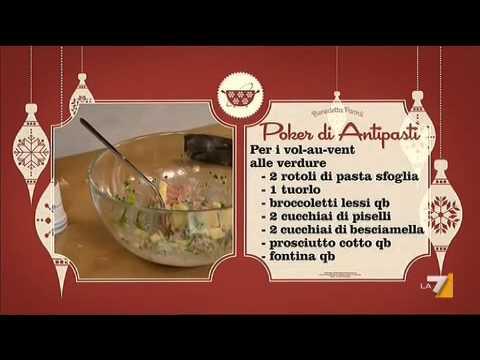 Le festività natalizie si avvicinano e ti servono ricette di natale da cucinare. I Menu Di Benedetta Poker Di Antipasti Youtube