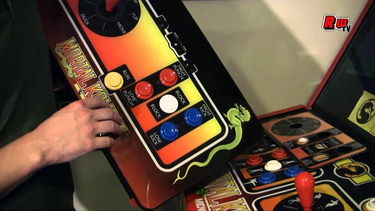 Mortal Kombat Klassic Arcade Stick and MK Arcade Collection Review by  Retroware TV