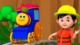 Working On The Railroad | Bob The Train | Songs For Kids