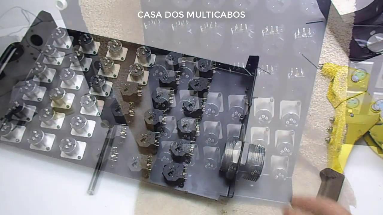 APRENDA COMO MONTA MEDUSA COM MULTICABO DE 36 VIAS PARA ÁUDIO- PARTE 2