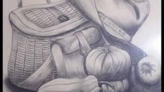 The art of drawing فن الرسم طبيعه صامته